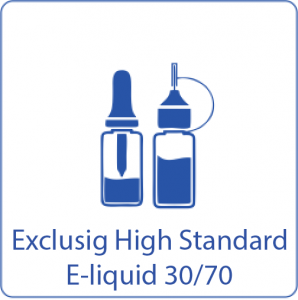 exclusig e-liquids high standard 30-70