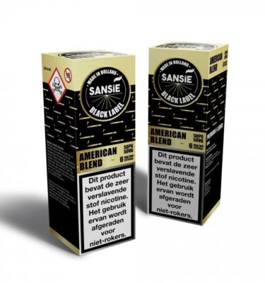 Sansie Black label American Blend 10 mlSansie Black label American Blend 10 ml