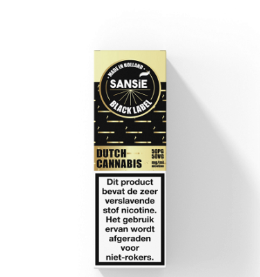 Sansie Gold label Cannabis