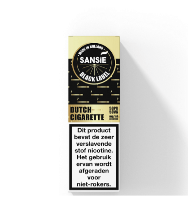 Sansie Gold label Dutch Cigarette