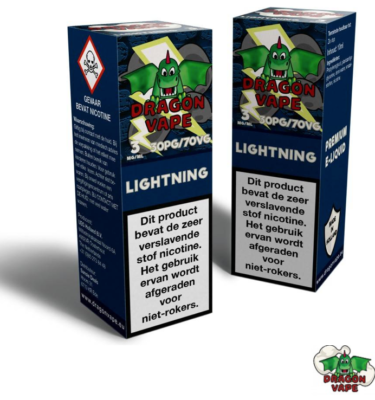 Dragon Vape Eliquid Lightning