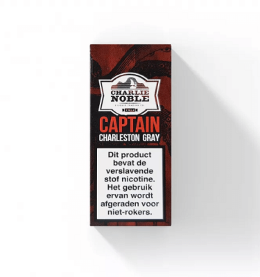 Captain Charleston Grey 10ml Eliquid Charlie Noble
