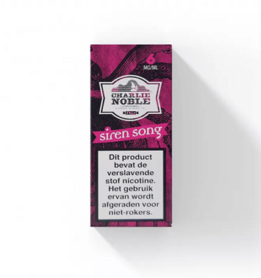 Siren Song 10ml Eliquid Charlie Noble
