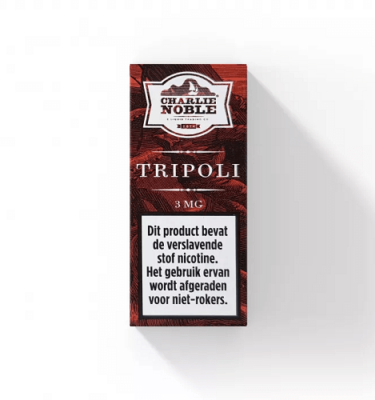 Tripoli 10ml Eliquid Charlie Noble