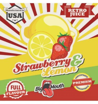 BigMouth Strawberry Lemon Retro Juice Aroma 10 ml