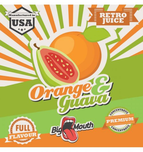 BigMouth Orange Guava Retro Juice Aroma 10 ml