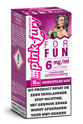 Pink Fury Eliquid For Fun 10 ml