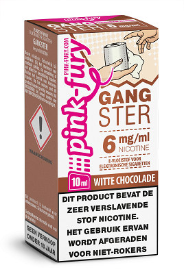 Pink Fury Eliquid Gangster 10 ml