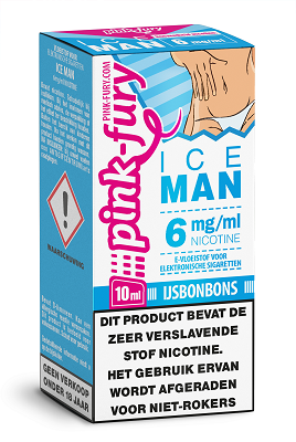 Pink Fury Eliquid Ice Man 10 ml