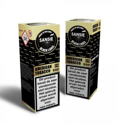 Sansie Black label American Tobacco