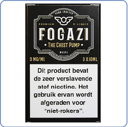 Fogazi The Chest Pump 3 X 10ML