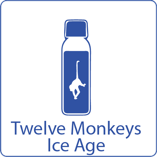 Monkeys ICE age shake n vape liquid