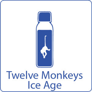 Twelve Monkeys ICE age shake n vape liquid