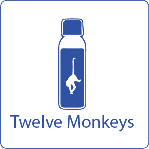 Twelve Monkeys shake n vape liquid