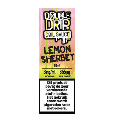 Double Drip Lemon Sherbet