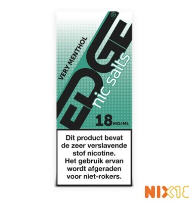 Edge Very Menthol Nic Salts