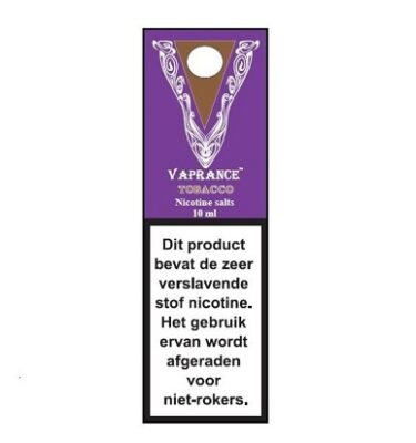 Vaprance Purple Lable Tobacco