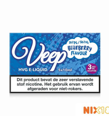 Veep Blueberry HVG E-Liquid 5 x 10ml