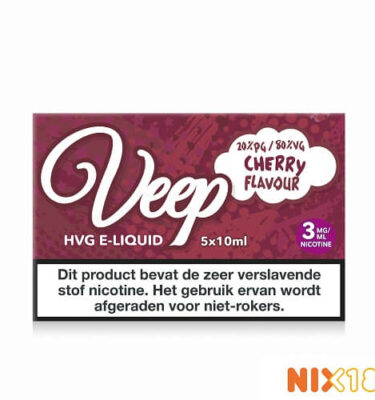 Veep Cherry HVG E-Liquid 5 x 10ml
