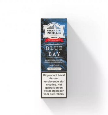 Blue Bay 10ml Eliquid Charlie Noble NS/20MG