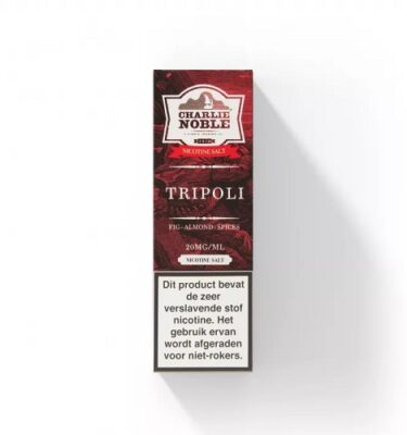 Tripoli 10ml Eliquid Charlie Noble NS/20MG