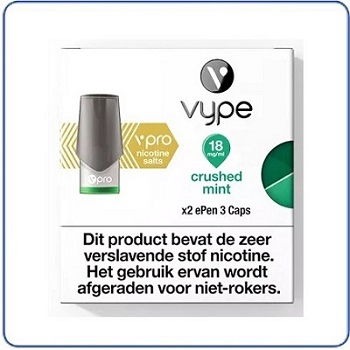 VYPE vPro ePen 3 Pods Crushed Mint (2 pack)