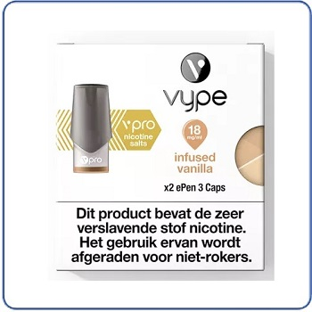 VYPE vPro ePen 3 Pods Infused Vanilla(2 pack)