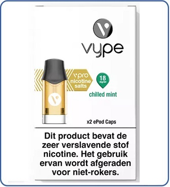 VYPE vPro ePod POD Chilled Mint (2 pack)