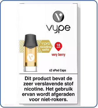 VYPE vPro ePod POD Very Berry (2 pack)