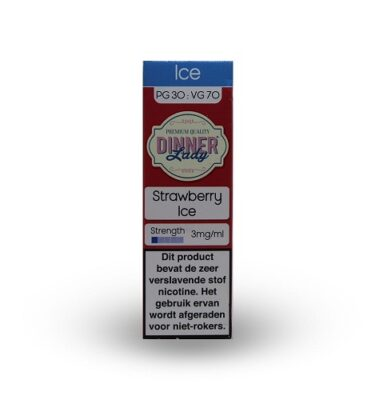 Dinner Lady Strawberry Ice 10ml