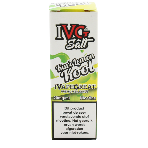 IVG Kiwi Lemon Kool NicSalts 10ML