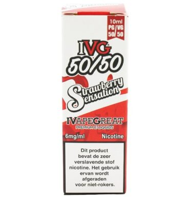 IVG Strawberry Sensation 10ML