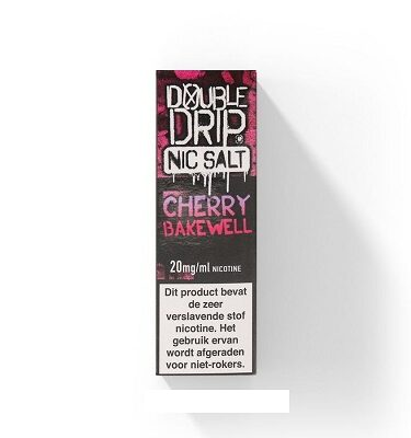Double Drip NicSalts Cherry Bakewell 10ml