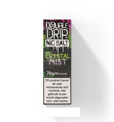 Double Drip NicSalts Crystal Mist 10ml