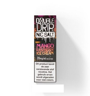 Double Drip NicSalts Mango Raspberry Icecream 10ml